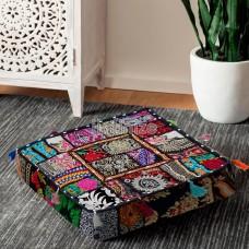 Black Beauty Box Floor Cushion