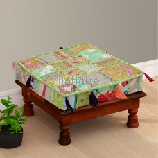 Royal Green Box Floor Cushion
