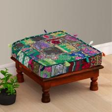 Hand Woven Box Floor Cushion
