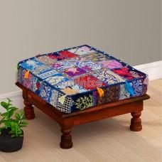 Blossom Blue Box Floor Cushion