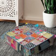 Vintage Tassel Box Floor Cushion