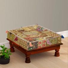 Beautiful Beige Box Floor Cushion