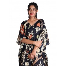 Black Beauty Cotton Kaftan
