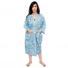 Sky Cotton Kimono