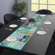 Turquoise Table Runner