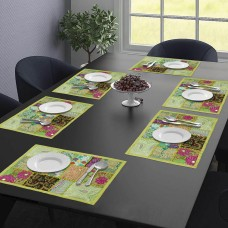 Green Color Table Mat