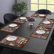 Brown Cotton Table Mat