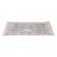Indian Hand Block Print Cotton Rug