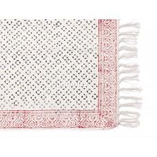 Cotton Hand Block Printed  Rug