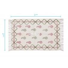 iinfinize Cotton Hand Printed Rug
