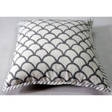 Indian Hand Block Printed Handwoven Cotton Printed Square Living Room Sofa Decor Cushion Cover