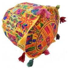 Indian Vintage Patchwork Cotton Boho Bean Bag