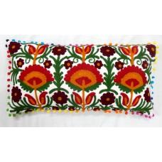Embroidery Suzani Cushion Cover