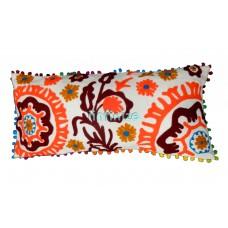 Embroidery Sujani Cushion Cover